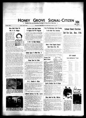 Primary view of object titled 'Honey Grove Signal-Citizen (Honey Grove, Tex.), Vol. 79, No. 45, Ed. 1 Friday, December 3, 1971'.