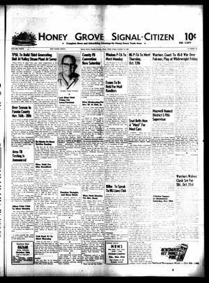 Honey Grove Signal-Citizen (Honey Grove, Tex.), Vol. 76, No. 40, Ed. 1 Friday, October 13, 1967