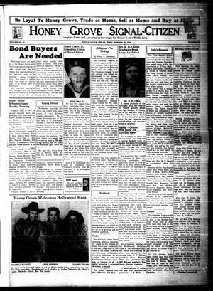 Honey Grove Signal-Citizen (Honey Grove, Tex.), Vol. 53, No. 35, Ed. 1 Friday, September 24, 1943