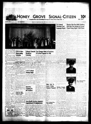 Honey Grove Signal-Citizen (Honey Grove, Tex.), Vol. 76, No. 43, Ed. 1 Friday, November 3, 1967