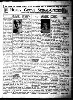 Honey Grove Signal-Citizen (Honey Grove, Tex.), Vol. 53, No. 32, Ed. 1 Friday, September 3, 1943