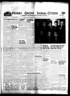 Honey Grove Signal-Citizen (Honey Grove, Tex.), Vol. 76, No. 41, Ed. 1 Friday, October 20, 1967