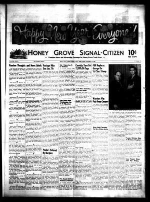 Honey Grove Signal-Citizen (Honey Grove, Tex.), Vol. 76, No. 51, Ed. 1 Friday, December 29, 1967