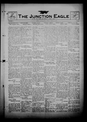 Primary view of The Junction Eagle (Junction, Tex.), Vol. 37, No. 48, Ed. 1 Friday, March 25, 1921