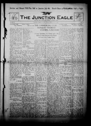 Primary view of object titled 'The Junction Eagle (Junction, Tex.), Vol. 38, No. 10, Ed. 1 Friday, July 1, 1921'.