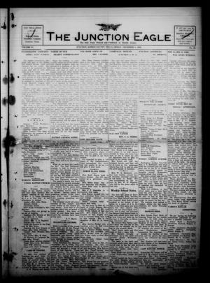 Primary view of object titled 'The Junction Eagle (Junction, Tex.), Vol. 37, No. 33, Ed. 1 Friday, December 3, 1920'.