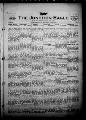 Primary view of object titled 'The Junction Eagle (Junction, Tex.), Vol. 38, No. 13, Ed. 1 Friday, August 5, 1921'.