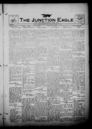 Primary view of object titled 'The Junction Eagle (Junction, Tex.), Vol. 37, No. 38, Ed. 1 Friday, January 14, 1921'.