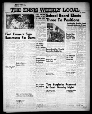 The Ennis Weekly Local (Ennis, Tex.), Vol. 31, No. 5, Ed. 1 Thursday, February 2, 1956