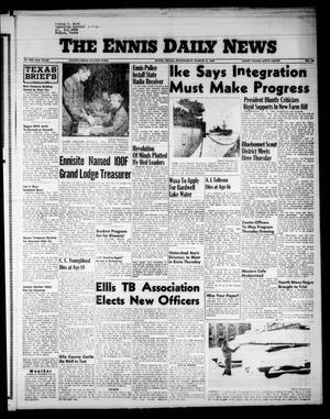 The Ennis Daily News (Ennis, Tex.), Vol. 65, No. 68, Ed. 1 Wednesday, March 21, 1956