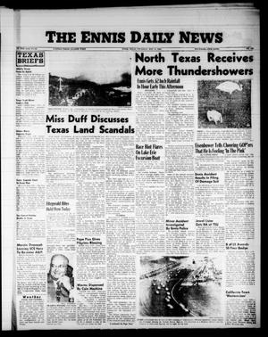 The Ennis Daily News (Ennis, Tex.), Vol. 65, No. 129, Ed. 1 Thursday, May 31, 1956