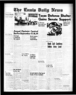Primary view of object titled 'The Ennis Daily News (Ennis, Tex.), Vol. 68, No. 183, Ed. 1 Tuesday, August 4, 1959'.