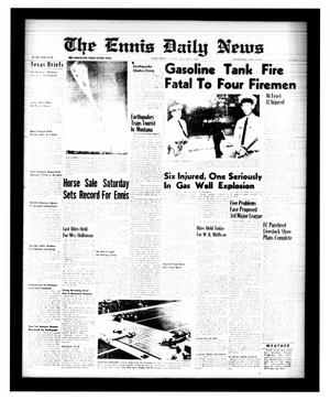 Primary view of object titled 'The Ennis Daily News (Ennis, Tex.), Vol. 68, No. 195, Ed. 1 Tuesday, August 18, 1959'.