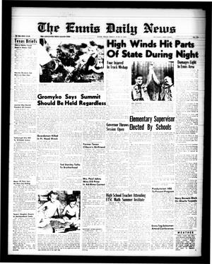 Primary view of object titled 'The Ennis Daily News (Ennis, Tex.), Vol. 68, No. 139, Ed. 1 Friday, June 12, 1959'.