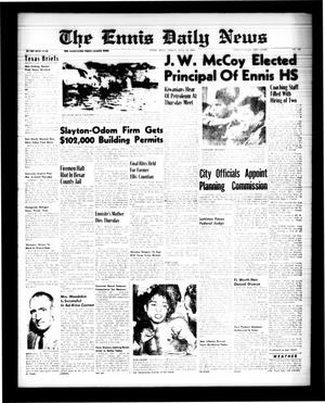 The Ennis Daily News (Ennis, Tex.), Vol. 68, No. 162, Ed. 1 Friday, July 10, 1959