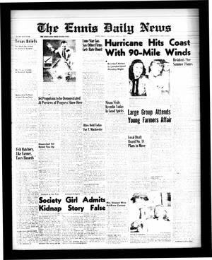 Primary view of object titled 'The Ennis Daily News (Ennis, Tex.), Vol. 68, No. [175], Ed. 1 Saturday, July 25, 1959'.