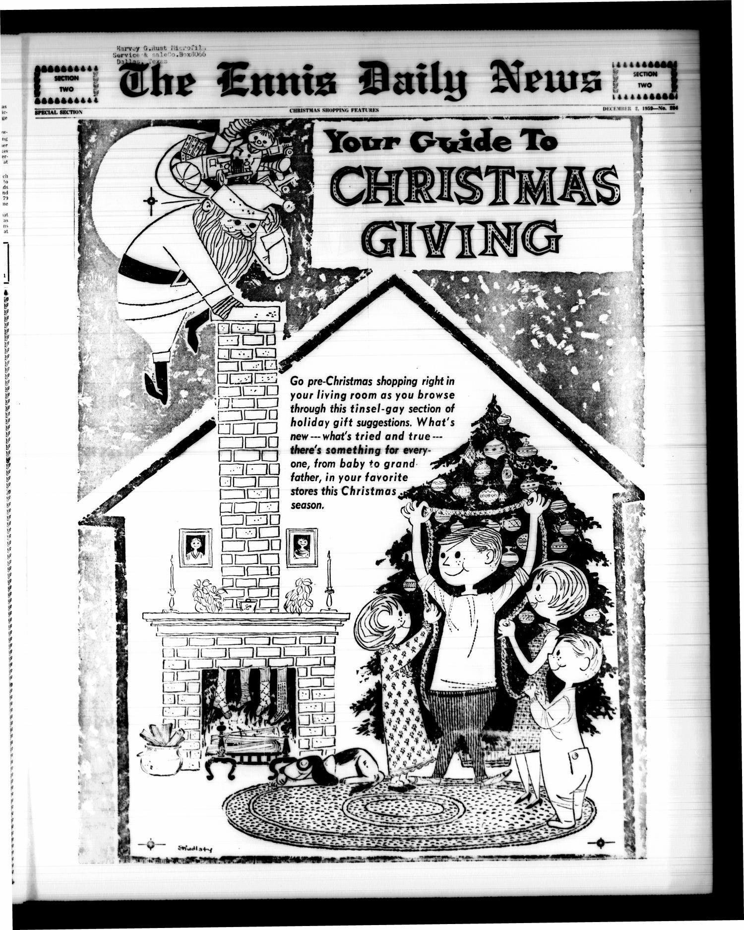 The Ennis Daily News Ennis Tex Vol 68 No 284 Ed 1
