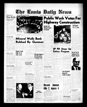 Primary view of object titled 'The Ennis Daily News (Ennis, Tex.), Vol. 68, No. 185, Ed. 1 Thursday, August 6, 1959'.