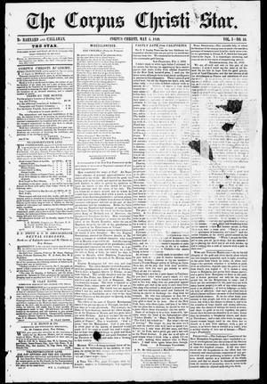 The Corpus Christi Star. (Corpus Christi, Tex.), Vol. 1, No. 33, Ed. 1, Saturday, May 5, 1849