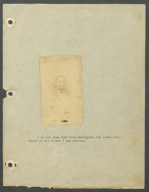 [Autobiography] : typscript, ca. 1916.