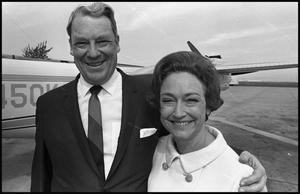 [Eugene Locke with his wife]