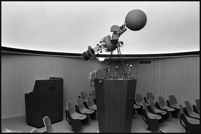 Planetarium in the Science Building at Midwestern University