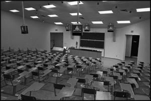 [Science Building lecture hall at Midwestern University]