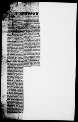 Primary view of object titled 'The National Vindicator. (Washington, Tex.), Vol. 1, No. 18, Ed. 1, Saturday, December 23, 1843'.