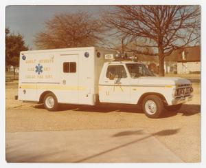 Primary view of object titled '[Dallas Fire Department Mobile Intensive Care Unit]'.