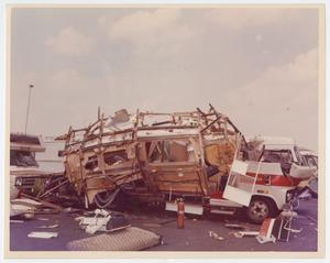 Primary view of object titled '[Destroyed Camper Vehicle]'.