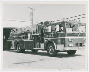 Primary view of object titled '[Dallas Fire Station 48 Engine]'.