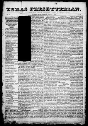 Texas Presbyterian. (Victoria, Tex.), Vol. 1, No. 2, Ed. 1, Saturday, January 9, 1847