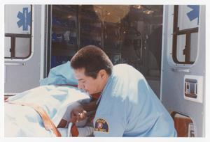 Primary view of object titled '[Paramedics Deliver a Baby]'.
