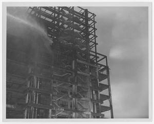 Primary view of object titled '[Dallas County Courthouse Construction]'.