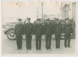 Primary view of object titled '{Dallas Fire Station #1 Firefighters]'.