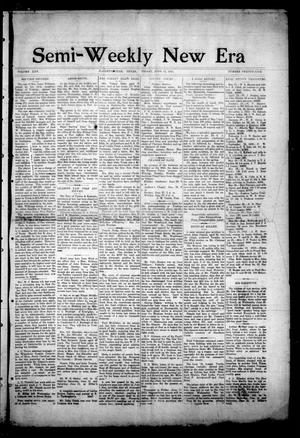 Semi-Weekly New Era (Hallettsville, Tex.), Vol. 25, No. 29, Ed. 1 Friday, June 13, 1913