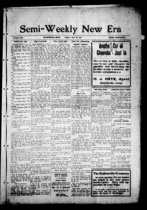Semi-Weekly New Era (Hallettsville, Tex.), Vol. 29, No. 38, Ed. 1 Friday, July 26, 1918