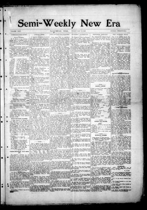 Semi-Weekly New Era (Hallettsville, Tex.), Vol. 25, No. 21, Ed. 1 Friday, May 16, 1913