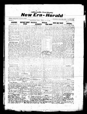 Primary view of object titled 'Hallettsville Semi-Weekly New Era-Herald (Hallettsville, Tex.), Vol. 63, No. 11, Ed. 1 Tuesday, October 1, 1935'.