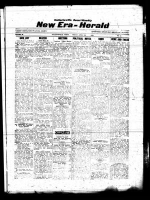 Primary view of object titled 'Hallettsville Semi-Weekly New Era-Herald (Hallettsville, Tex.), Vol. 63, No. 61, Ed. 1 Friday, April 3, 1936'.