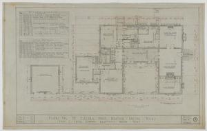 Primary view of object titled 'Electric House Beautiful, Abilene, Texas: Floor Plan'.