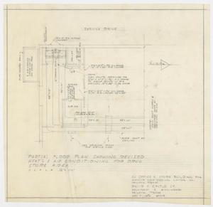 Primary view of object titled 'Elmwood West Medical Center Office, Abilene, Texas: Partial Floor Plan'.