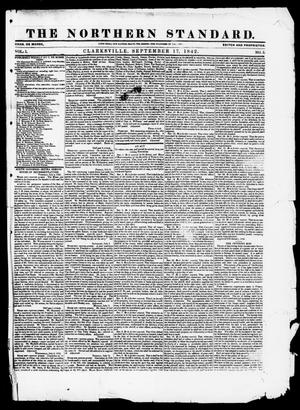 The Northern Standard. (Clarksville, Tex.), Vol. 1, No. 5, Ed. 1, Saturday, September 17, 1842