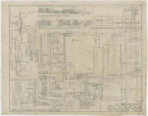 Primary view of object titled 'Crippled Children's Center, Abilene, Texas: Plot Plan and Details'.