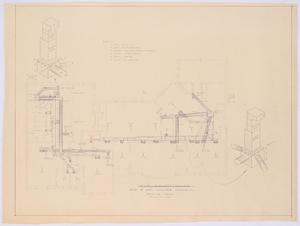Primary view of object titled 'Johnson Residence, Abilene, Texas: Air Conditioning Plan'.
