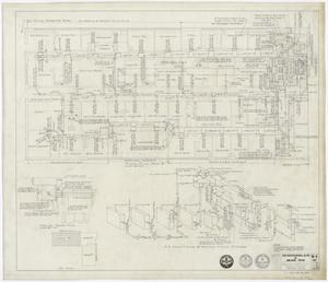 "Primary view of object titled 'Professional Building, Abilene, Texas: Area ""B"" Air Conditioning and Heating'."