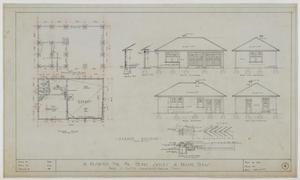 Primary view of object titled 'Sayles Residence, Abilene, Texas: Plans, Elevations, and Details'.