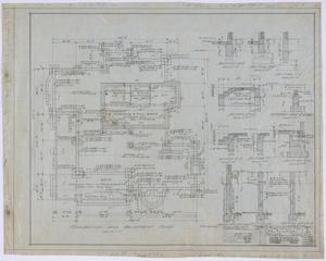 Primary view of object titled 'Over Residence, Abilene, Texas: Foundation and Basement Plan'.