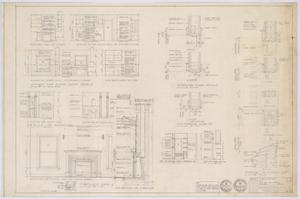 Primary view of object titled 'Travis Residence, Abilene, Texas: Various Details'.