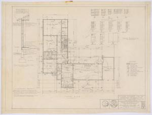 Primary view of object titled 'Department of Agriculture Residence, Abilene, Texas: Floor Plan'.